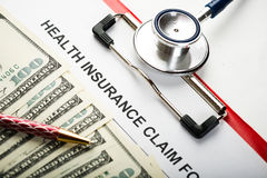 Health insurance Royalty Free Stock Images