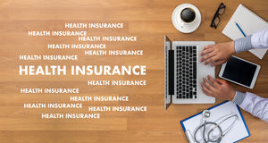 HEALTH INSURANCE Assurance Medical Risk Safety  health care prof Royalty Free Stock Photo