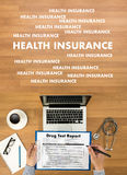 HEALTH INSURANCE Assurance Medical Risk Safety  health care prof Stock Photos