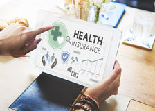 Health Insurance Assurnace Medical Risk Safety Concept Royalty Free Stock Photo