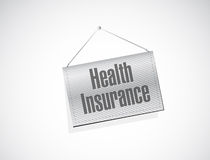 Health Insurance banner sign concept Stock Photography