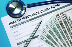 Health insurance claim concept Stock Photo
