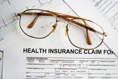 Health insurance claim Stock Images