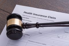 Health insurance claim Royalty Free Stock Photography