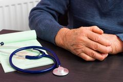 Health Insurance For The Elderly Royalty Free Stock Images