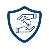 Health Insurance/Health Care Icon vector illustration