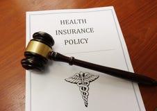 Health insurance law Royalty Free Stock Photo