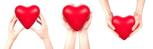 Health insurance or love concept stock photos