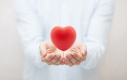 Health insurance or love concept Stock Photography