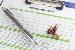 Health insurance Royalty Free Stock Photography