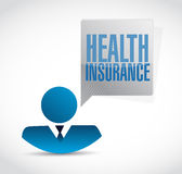 Health Insurance people sign concept Royalty Free Stock Photography