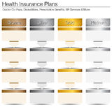 Health Insurance Plans Royalty Free Stock Photography