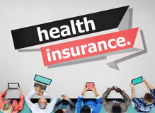 Health Insurance Protection Risk Assessment Assurance Concept Stock Images