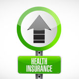 Health Insurance road sign concept Royalty Free Stock Image