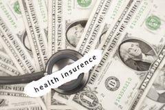 Health insurance savings Stock Image