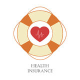 Health insurance sign Stock Photos