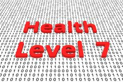 Health level 7 Royalty Free Stock Images