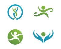 Health life and Fun logo Royalty Free Stock Photo
