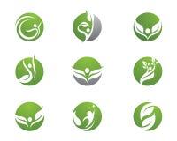 Health life and Fun logo. Health life Fun logo for other company Stock Photo