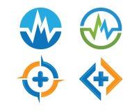 Health life logo Stock Images