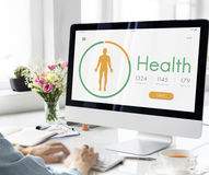 Health Life Medical Exercise Concept Royalty Free Stock Images