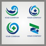 Health Logo. For your company Royalty Free Stock Image