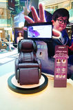 Health massage chairs sales in shopping malls Stock Photography