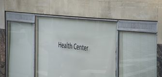 Health and Medical Center for Treatment stock photos