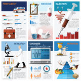 Health And Medical Chart Diagram Infographic Royalty Free Stock Photos