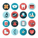 Health and medical icons Royalty Free Stock Photos