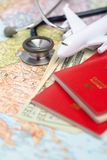 Health/medical tourism or foreign insurance travel Royalty Free Stock Photography