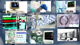 Health and Medicine, Video Montage stock footage