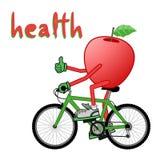 Health message Stock Image