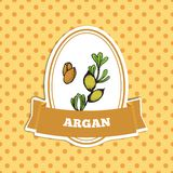 Health and Nature Collection. Argan tree Stock Photos