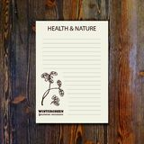 Health and Nature Collection Royalty Free Stock Photography