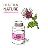 Health and Nature Supplements Collection Stock Photos