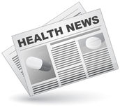 Health news Royalty Free Stock Images