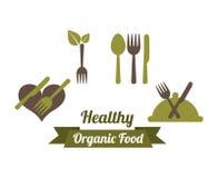 Health and organic food design Stock Image