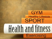 Health and Physical Activity books Stock Images