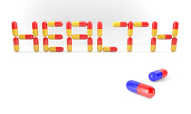 Health Pills Royalty Free Stock Images