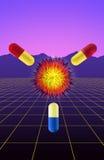 Health pills aids Stock Photo