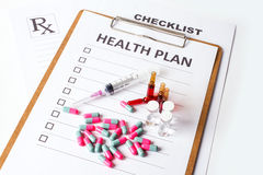 Health Plan Stock Photography
