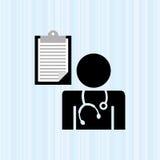 Health professional design Stock Photography