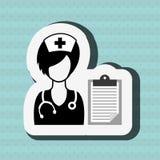 Health professional design. Illustration eps10 graphic Stock Image