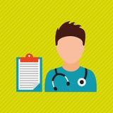 Health professional design. Illustration eps10 graphic Stock Photos