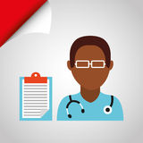 Health professional design. Illustration eps10 graphic Royalty Free Stock Photography