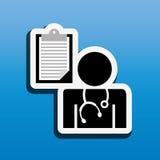 Health professional design Royalty Free Stock Photos