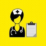 Health professional design. Illustration eps10 graphic Stock Photography