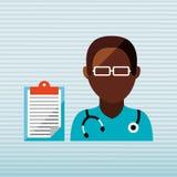 Health professional design. Illustration eps10 graphic Stock Photo