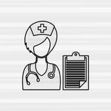 Health professional design Stock Photo